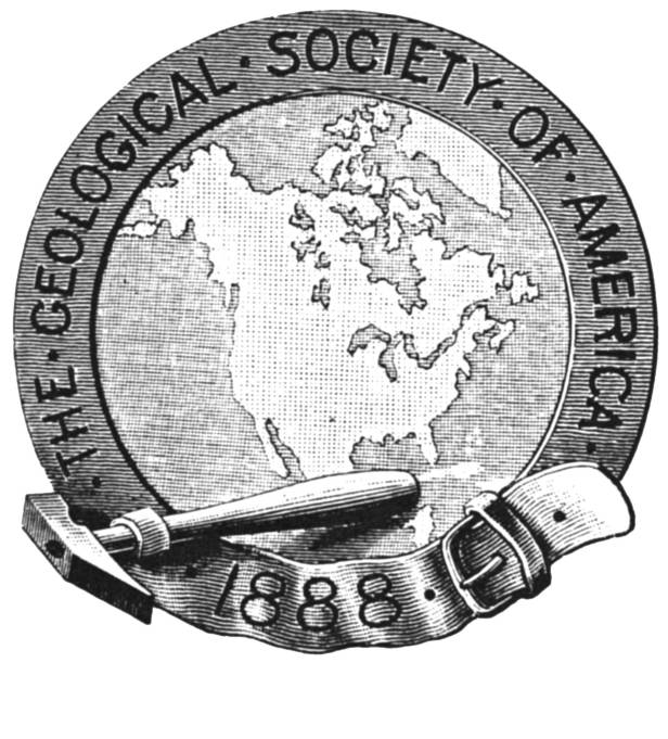 The Geological Society of America's First Official Seal (1891-1935)