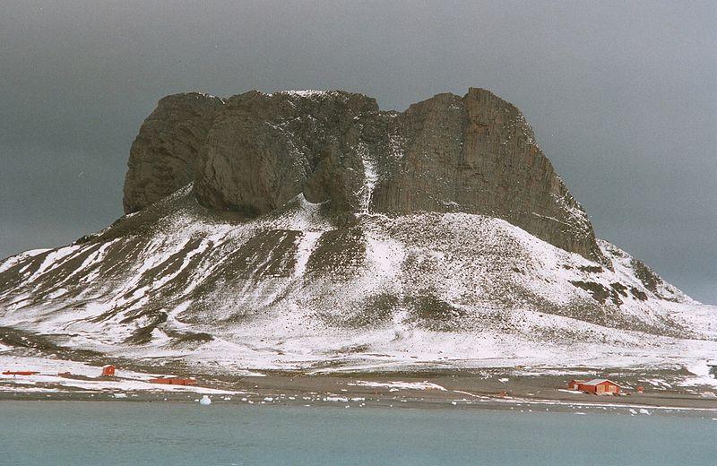 King George Island among the South Shetland Islands