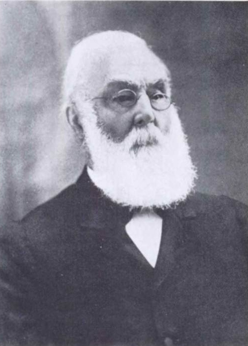 James Hall, 1811-1898.  First President of the Geological Society of America, 1889.