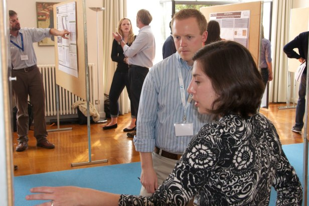 Poster session generated excellent presentations and discussions