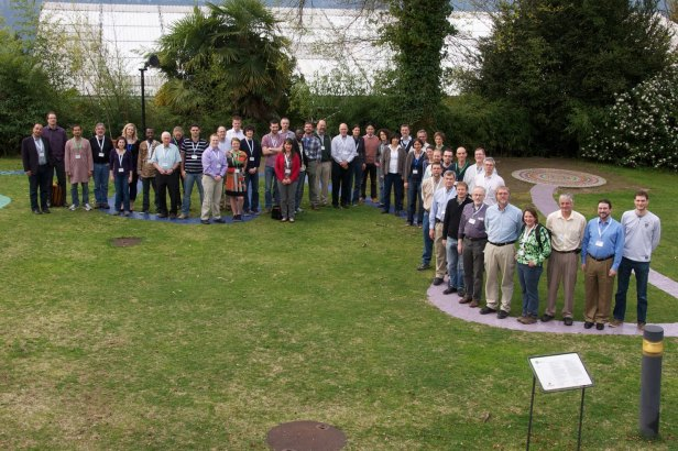 Group photo of conference participants at Monte Verita, Switzerland