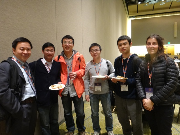 Participants from China to Chile enjoying GSA IS Reception