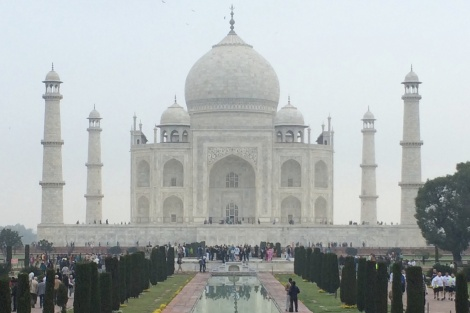 It took 22 years to build the Taj Mahal, with ~ 20,000 workers working 24/7.