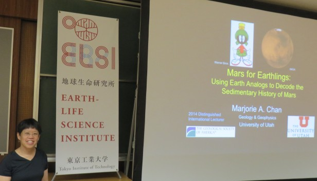 Before my talk at ELSI.