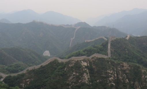 The Badaling section of the Great Wall is very popular because it is close and accessible to Beijing.