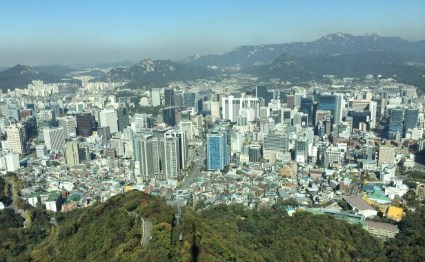 Seoul is the capital city of South Korea with a metropolitan area of > 25 million people.