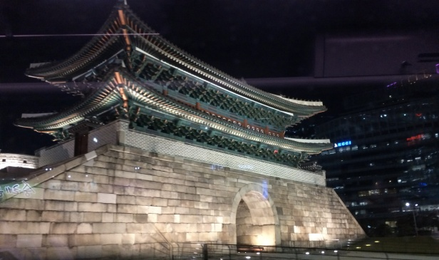 The South Gate (Namdaemun) of Seoul has been restored and is considered the country's No. 1 National Treasure.