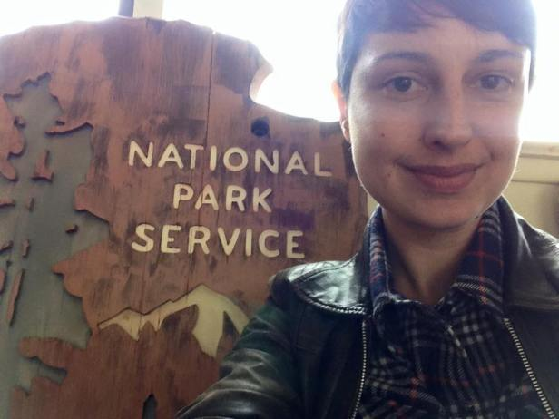 Being part of the National Park Service is awesome. I can't express how proud I am to be serving this organization.