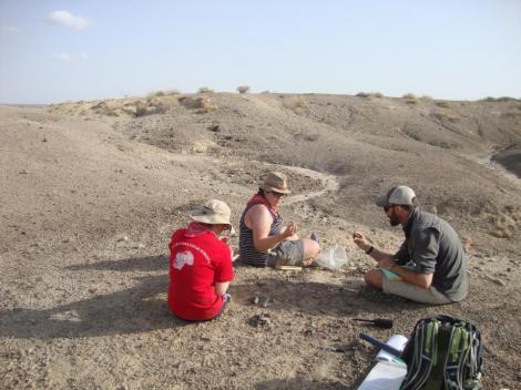 Field work in the Turkana Basin, Kenya