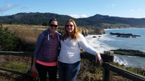 The author with NOAA employee Courtney Smith, visiting Año Nuevo State Park and discussing various NOAA programs – some meetings are just better outside! #FindYourPark