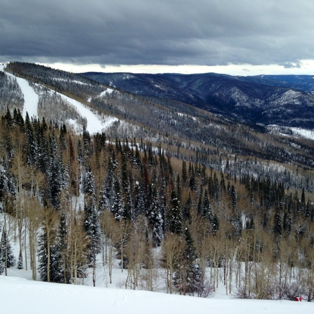 One amazing thing about Colorado has been the plethora of outdoor adventures, including breathtaking mountains just perfect for a weekend of snowboarding or a snowy trail run.