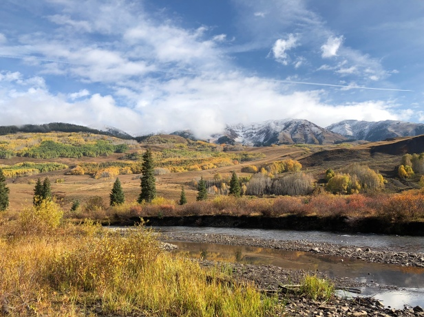 View from the floodplains of the East River Valley, near Crested Butte, CO. Photo credit: Rania Eldam Pommer