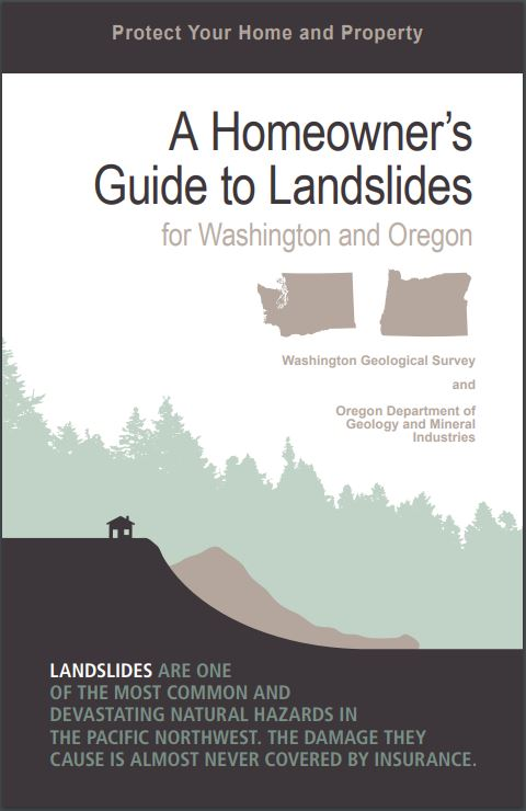 Homeowners Guide to Landslides - Cover Image