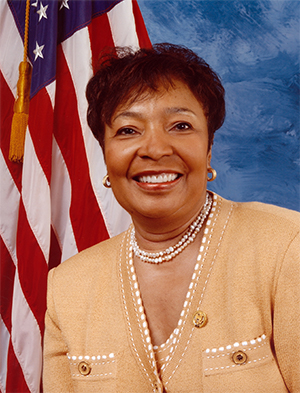 Rep Eddie Bernice Johnson (D-TX-30). Photo credit: ebjohnson.house.gov