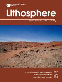 April 2019 Lithosphere Cover