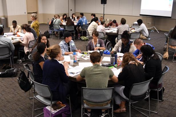 OTF scholars attend program workshop