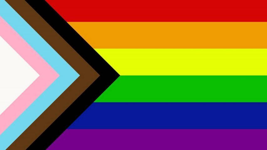 LGBTQ+ Inclusive Rainbow Flag  Credit: Daniel Quasar