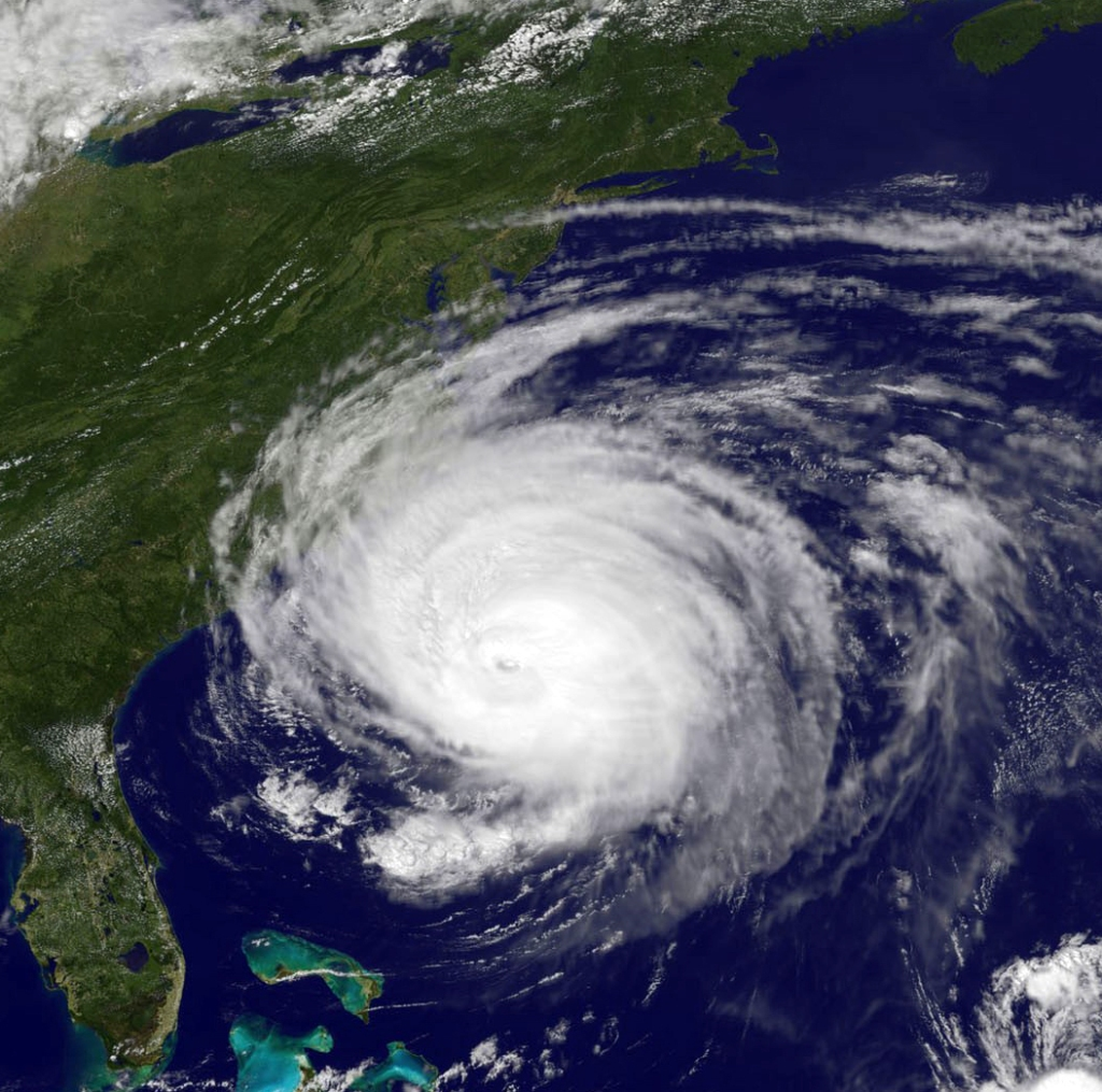 Geostationary Operational Environmental Satellite (GOES-13) captured this image of Hurricane Earl, which had category 4 strength, threatening the U.S. East Coast in 2010 - Credit: National Science Foundation